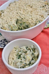 #Vegan and Gluten-Free Spinach Artichoke Mashed Potatoes