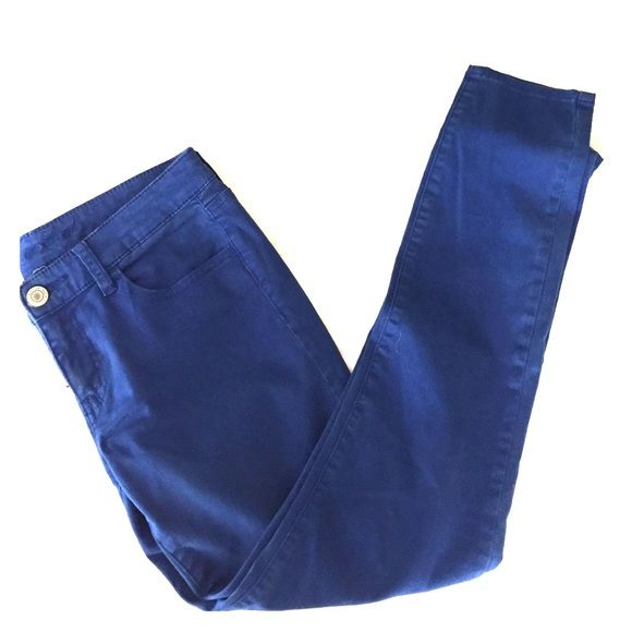 Cobalt Jeans Cobalt blue jeggings. American Eagle Outfitters Jeans Skinny