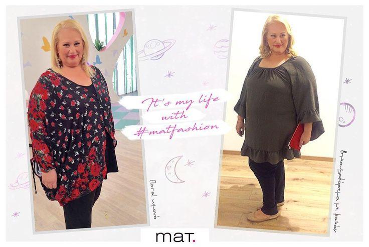 💫 Η πρόβλεψη της @asibiliou για τον χειμώνα; Τα άστρα ευνοούν τις #matfashionistas  Δείτε τι διάλεξε από τη νέα συλλογή της Mat. fashion. Μπλούζα με βολάν ➲ code: 681.7172 Ανακάλυψε τα κιμονό της νέας συλλογής online & στα 19 εταιρικά καταστήματα.  #matfashion #fw1718 #collection #fashionista #starkoukou #starchannel