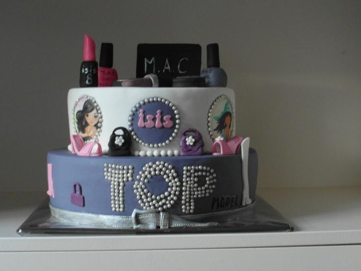 Top Model taart/ Top Model cake