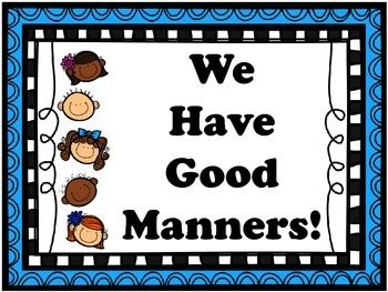 """This fun and colorful PowerPoint uses """"real life"""" situations to ask students which manners to use. The PowerPoint ends with a simple poem that students can clap, snap, or pat to the beat of the rhythm. Thank you to Creative Clips by Krista Wallden for the use of the clip art and border art!Visit http://www.teacherspayteachers.com/Store/Krista-Wallden and check out ALL of her amazing products!This PowerPoint was adapted from the Scholastic """"Let's Find Out"""" series.Good Manners poem from…"""