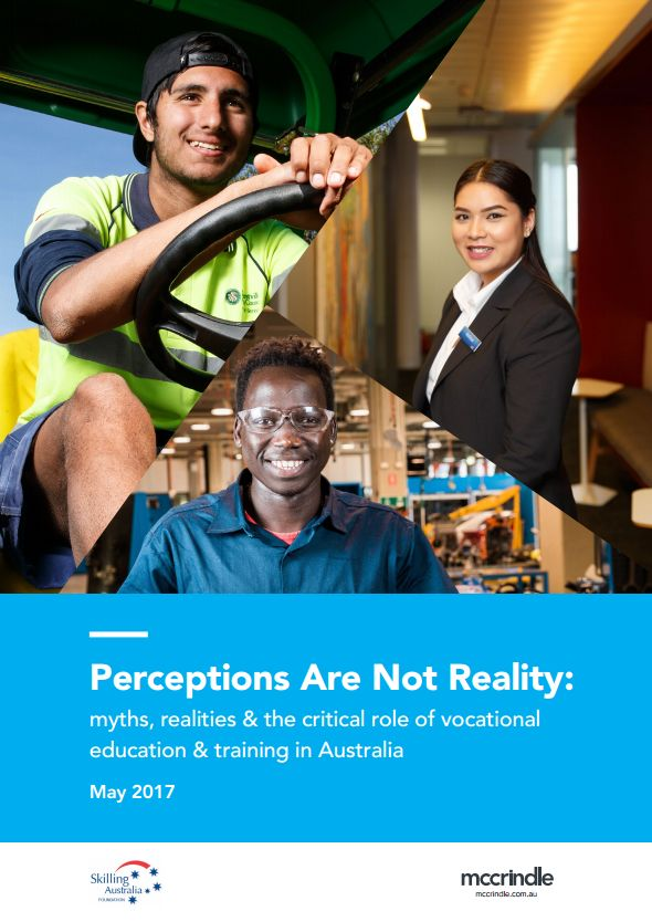 Vocational Education and Training: Myths, realities and the future of skills in Australia