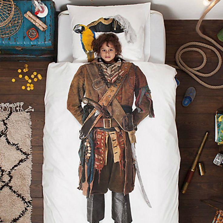 Snurk Pirate Duvet Cover