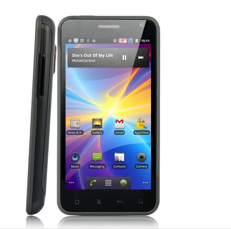 Latest Android 4.0 Ice Cream Sandwich Smartphone with 4.3 Inch HD Touch Capacitive Screen-3G, WiFi