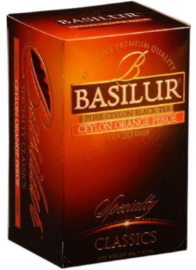 Ceylon Orange Pekoe Tea Bags | Basilur Tea