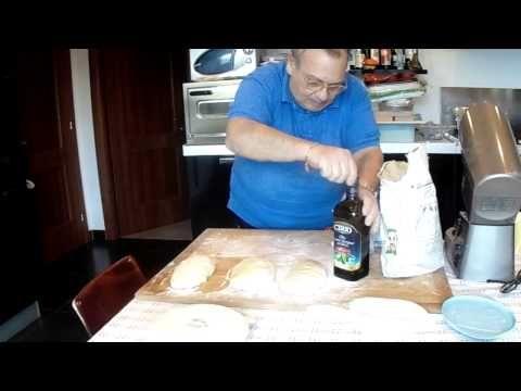 Pane di pasta dura o ferrarese di Osvy - YouTube