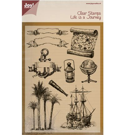 Joy clear stempel Life is a Journey