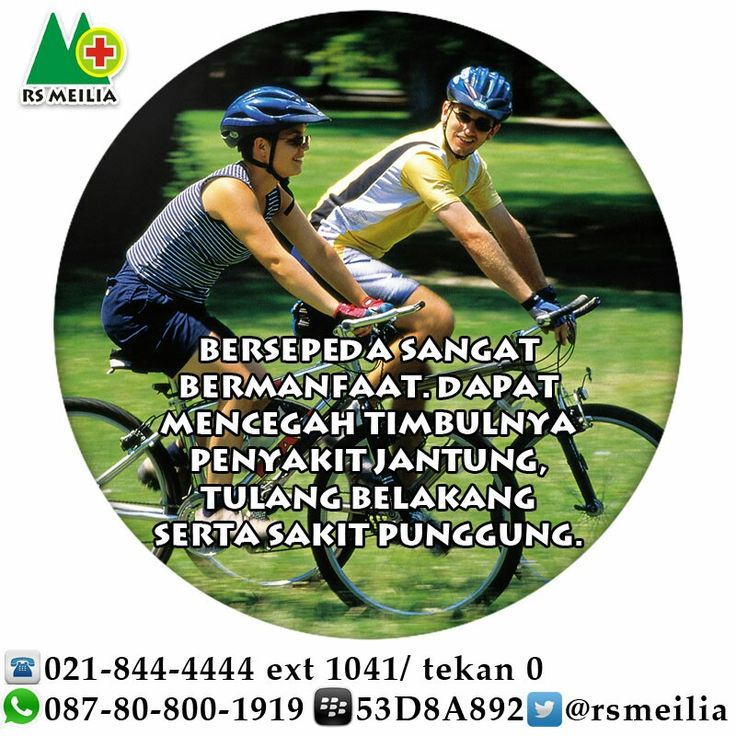 Sepeda #olahraga #sehat #jantung #punggung #rsmeilia #cibubur #terbaik
