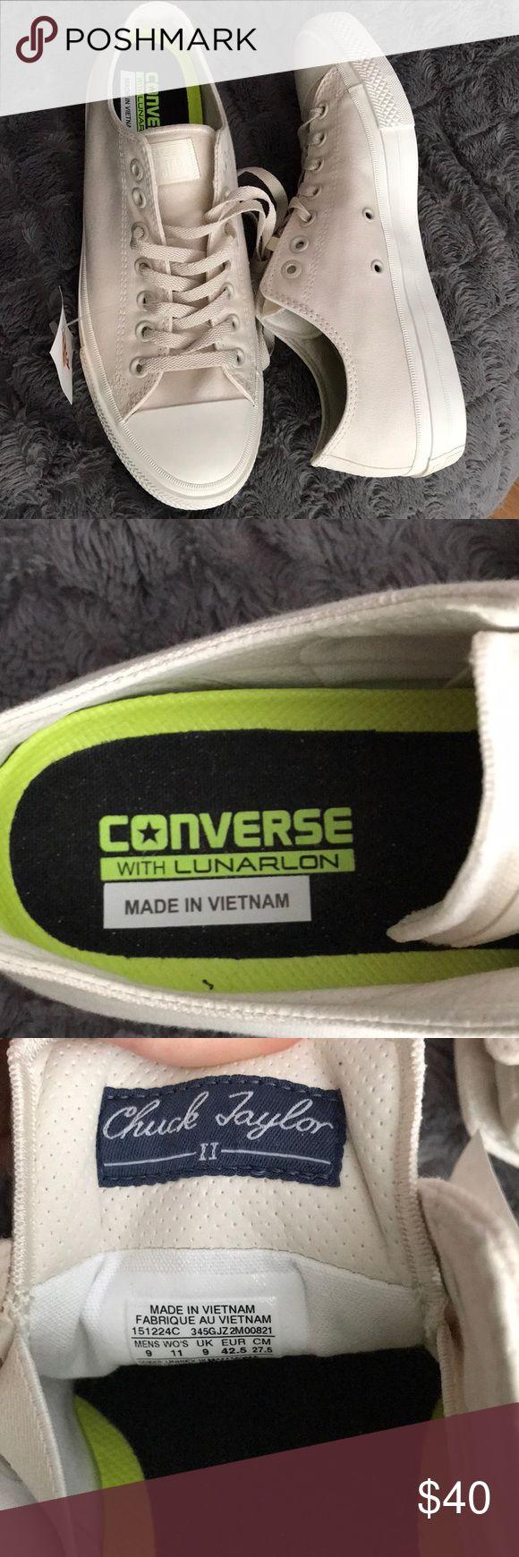 NEW Converse - Chuck Taylor II with Lunarlon   Converse chuck ...