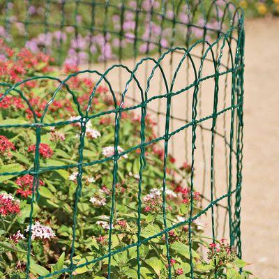 Use This Flexible Garden Border Fence   In 3 Heights   As As Decorative Garden  Edging