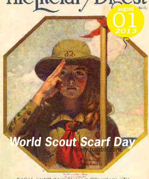 World Scout Scarf Day!