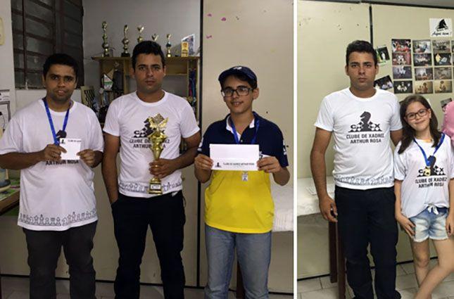 :: Clarim :: - Clube de Xadrez Arthur Rosa realiza o primeiro torneio de 2016