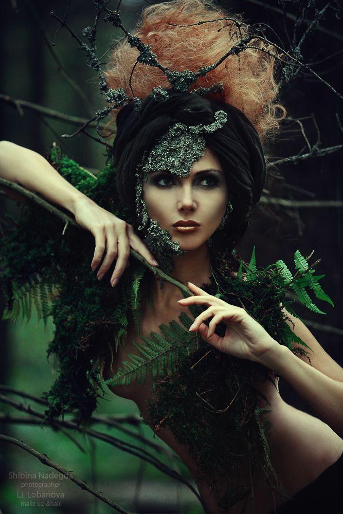 Shibina Nadegda - Fashion Photography - Batman Villains - Poison Ivy - Concept Ideas