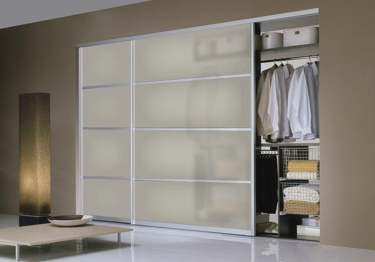 custom closet doors | Milano-SL20 modern closet door by Milano Doors