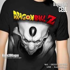 Kaos DRAGON BALL CELL, Kaos3D, Kaos Karakter DRAGON BALL Z, Kaos Film Kartun Dragon Ball, https://instagram.com/kaos3dbagus, WA : 08222 128 3456, LINE : Kaos3DBagus