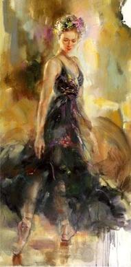 Coppelia - Painting by Anna RazumovskayaBeautiful, Ballet Art, Astonishing Art, Flyimage, Dance, Anna Art, Art Painting, Razumovskaya Art, Artists Anna