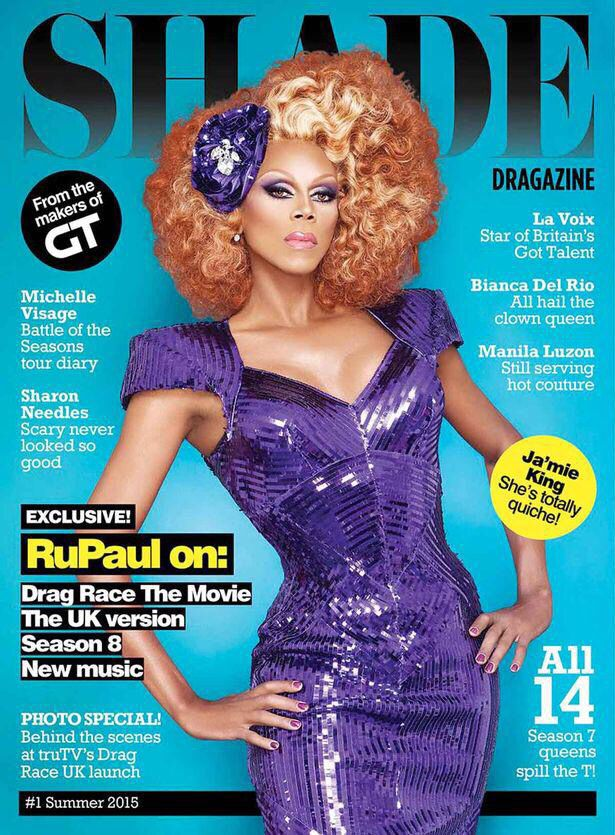 Rupaul for Shade magazine | Drag Queen Lover