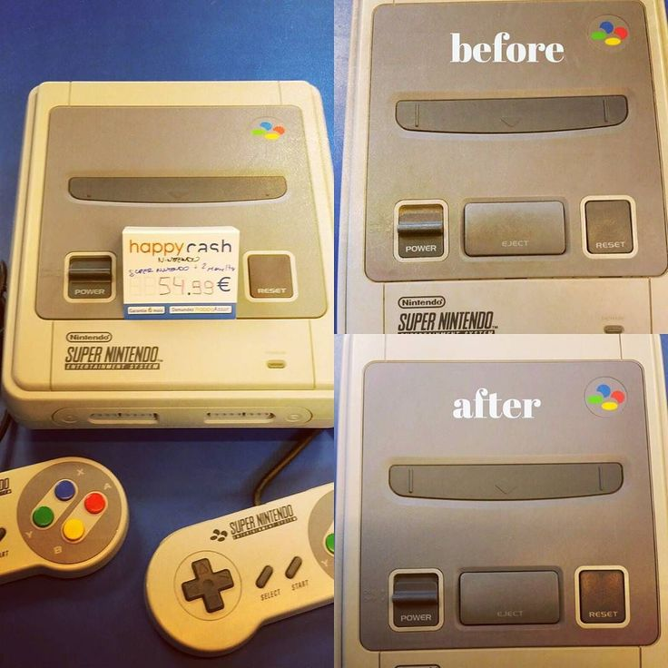 Console Nintendo Super Nintendo fournie avec 2 manette en état nickel dispo #happycashlannion #bonsplans #bonnesaffaires #happygaming22 #retrogaming #nintendo #supernes #supernintendo Dispo dans votre happycash Lannion depuis le November 08 2017 at 02:13PM