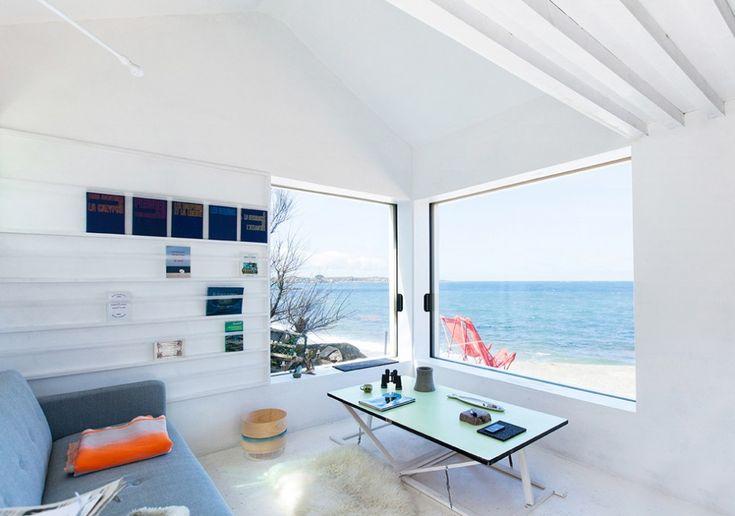Rénovation d'une ancienne petite maison de pêcheur par FREAKS architecture - Journal du Design