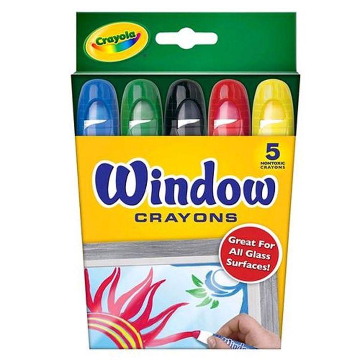 Aproveite o divertido Giz de cera para vidro Crayola. Com ele você poderá deixar as crianças expressarem toda sua imaginação e criatividade pintando em janelas, portas e superfícies de vidro.   Depois basta lavar que a tinta sai facilmente sem deixar manchas. Com o Giz de Cera Crayola a diversão não tem hora para terminar.