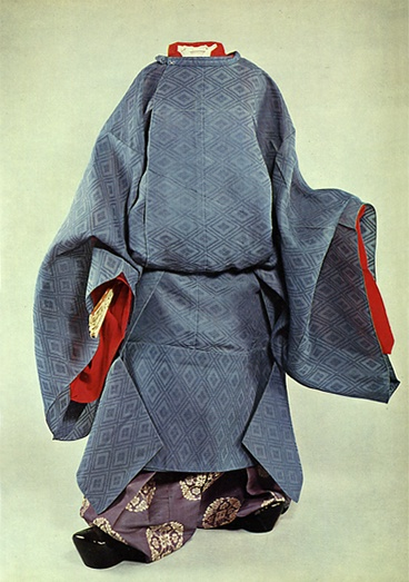 Natsu-Noushi (夏直衣). heian-era men's summer costume.