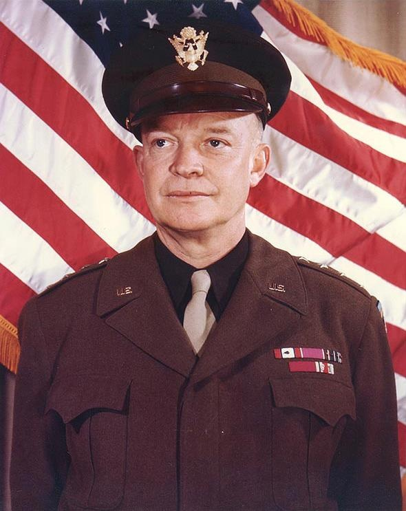 DWIGHT DAVID EISENHOWER (Politician) BIRTH: October 14, 1890 in Denison, Texas, U.S.A. DEATH: March 28, 1969 in Washington, D.C., U.S.A. CAUSE OF DEATH: Congestive Heart Failure CLAIM TO FAME: 34th President of the United States