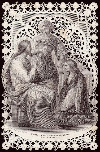 Старинные религиозные открытки, рисунки животных