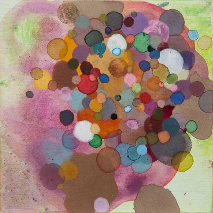 """Saatchi Art Artist Dennis Happé; Painting, """"Leftover dots #4"""" #art"""