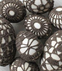 Hilde haakt: Eieren omhaken linkjes en patroon