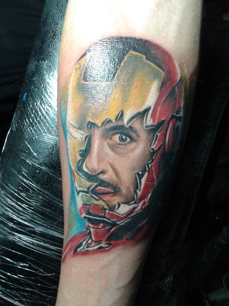 Iron man tattoo | O2k tattoo | Pinterest | Iron man, Irons ...