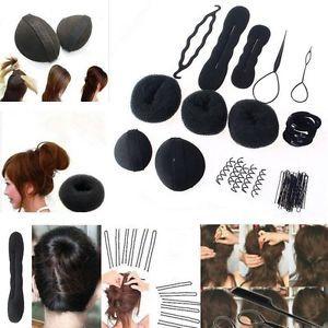 NEW-Women-Magic-Braiders-Hair-Twist-Styling-Clip-Stick-Bun-Maker-Braid-Tool-Set