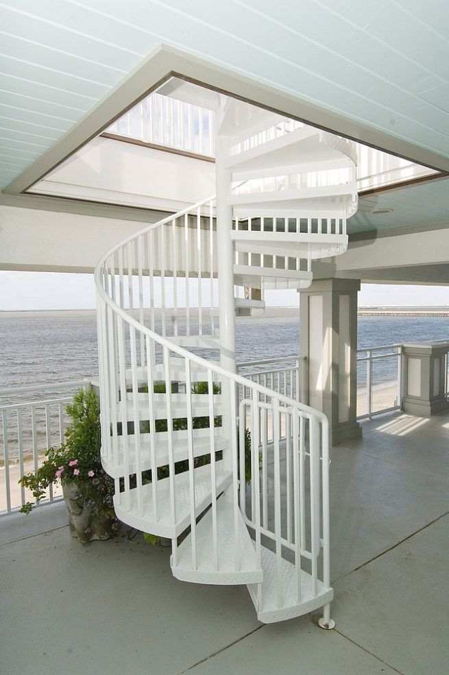 Beach-front home remodel in Lewes, DE. | Stairs