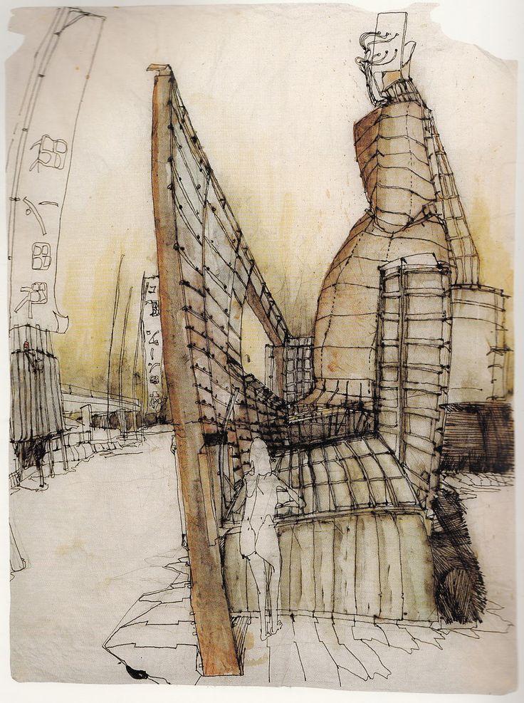 Peter Salter Sketch
