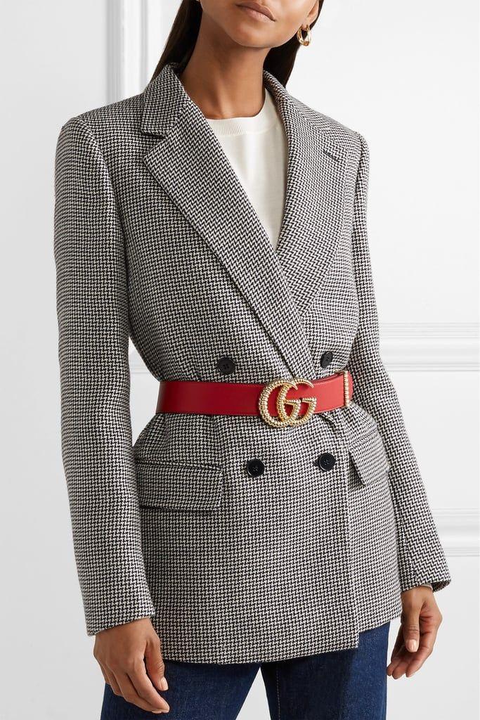 di buona qualità migliore vendita arrivato Gucci Leather Belt   Giacca, Cinture e Gucci