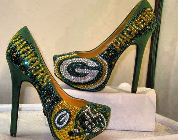 greenbay packer shoes | Green Bay packer shoes! | PACKERS!!!!!