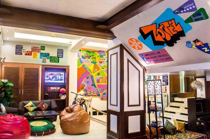 Zostel in Delhi, Backpacker Hostels in India