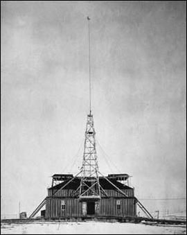 Tesla's lab in Colorado Springs, CO