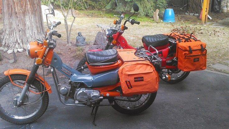 Honda Trail Saddle Bags