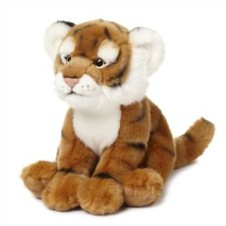 Plush tiger, 23cm