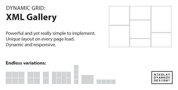 jQuery Dynamic Grid: XML Gallery - CodeCanyon Item for Sale