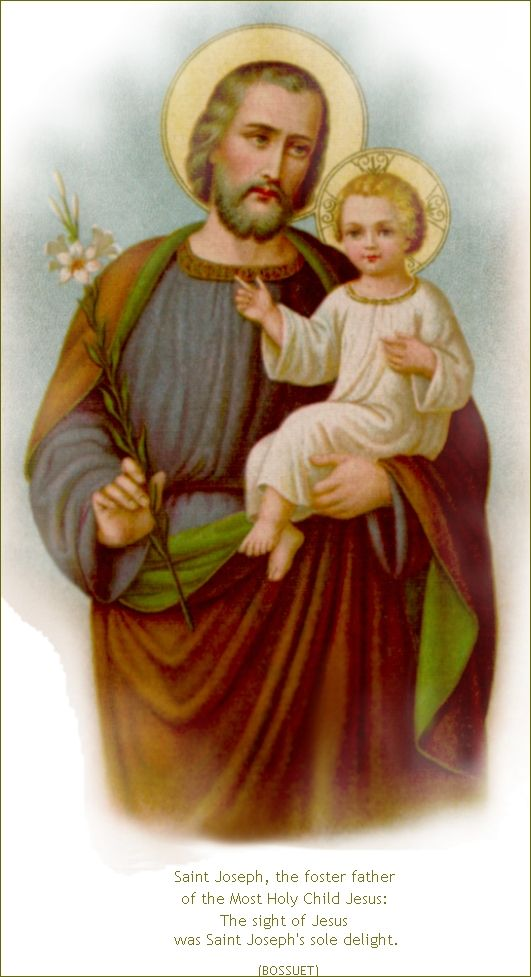 THE MEMORARE OF SAINT JOSEPH