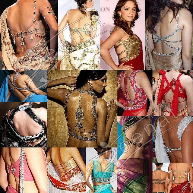Sari Blouse Patterns   Saree Blouse Back Designs   Flickr - Photo Sharing!