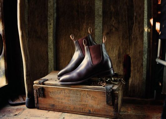 RM Williams handcrafted bushman's leather boots • Adelaide's icons
