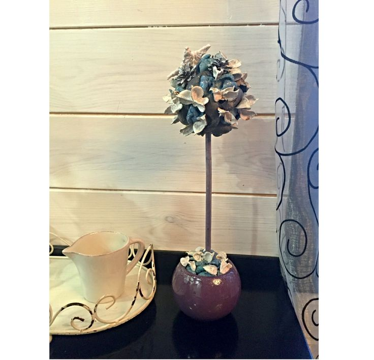 Table centerpiece Topiary tree, Tree of happiness a gift for Her, Home decor gift idea. by GlobalFactory on Etsy