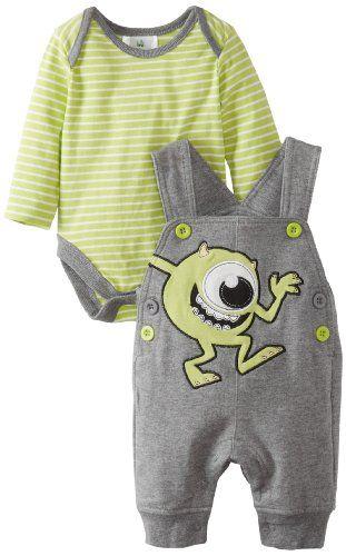 Disney Baby Baby-Boys Newborn 2 Piece Overall Set, Grey/Green, 3-6 Months Disney,http://www.amazon.com/dp/B00DS3G9QU/ref=cm_sw_r_pi_dp_hzNEsb0V2DRWN129