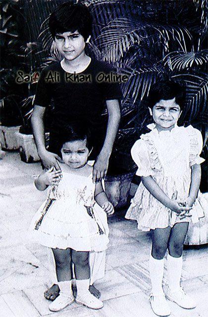 Saif, Soha & Saba Ali Khan's baby pic