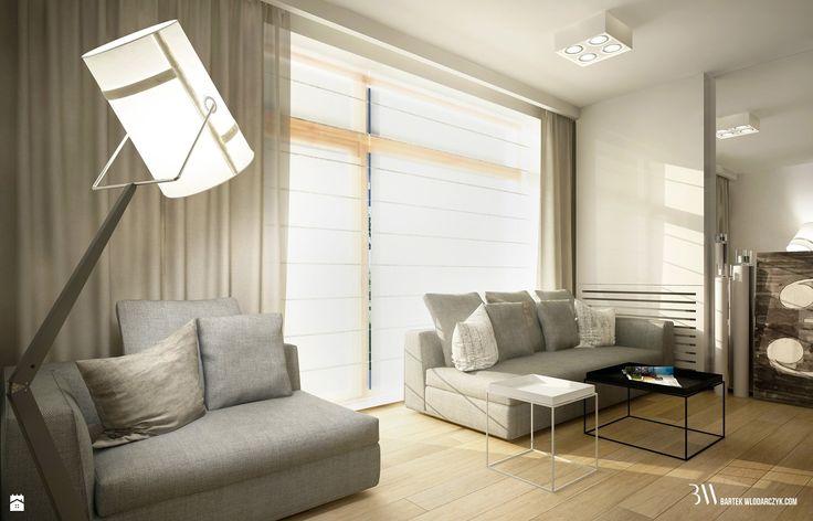 Salon - zdjęcie od Bartek Włodarczyk Architekt - Salon - Styl Nowoczesny - Bartek Włodarczyk Architekt