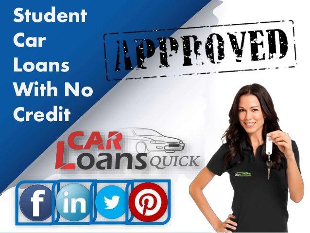 student car loans no credit