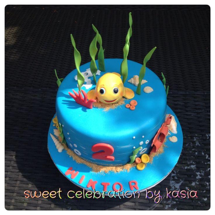 Gold fish cake Sweet Celebration
