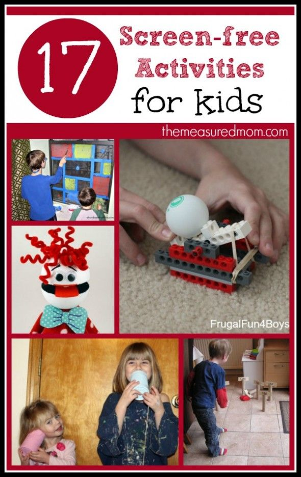 Screen Free Activities for Kids (plus a new After School Linky!)